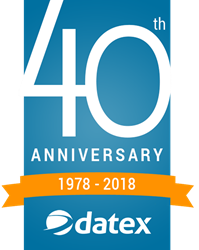 Software developer Datex celebrates 40th anniversary as a provider of supply chain technology solutions to the 3PL, warehousing and distribution, e-commerce omnichannel fulfillment, pharmaceutical and food & beverage industries.