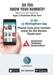 Type 2 Diabetes Risk Test Exam Room Reminder