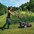 New WORX 17-inch, 40-volt, Max Lithium-ion Lawnmower Is Lightweight, Compact, Top-performer