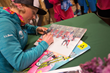Kikkan Randall signs autographs at L.L.Bean in Freeport