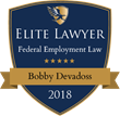 Federal Labor and Employment Law Attorney Bobby Devadoss Named 2018 Elite Lawyer