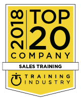 Top 20 Sales Training Company for 2018 by Training Industry