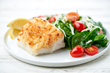 Home Chef's Quick 'n Easy Meal, Parmesan-Crusted Cod