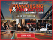 The second annual Restaurant Franchising and Innovation Summit will be held 16-18 July in London. Early Bird registration ends 20 April.