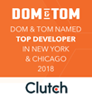 Dom & Tom Named #1 App Development Company in New York and Chicago