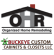 Organized Home Remodeling and Buckeye Custom Cabinets and Closets Logo