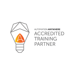 Automation Anywhere certification can be achieved by taking classes in Robotic Process Automation with the RPA Academy, an accredited training partner with Automation Anywhere RPA.