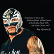Rey Mysterio: Owner and Star of Season 1 of Aro Lucha