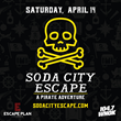 Escape Plan Columbia & 104.7 WNOK Team up to Host a One of a Kind, City-Wide Event on April 14th:  SODA CITY ESCAPE!