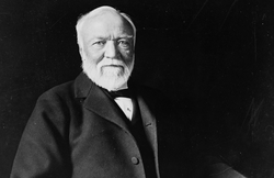 Andrew Carnegie, 1913. Library of Congress
