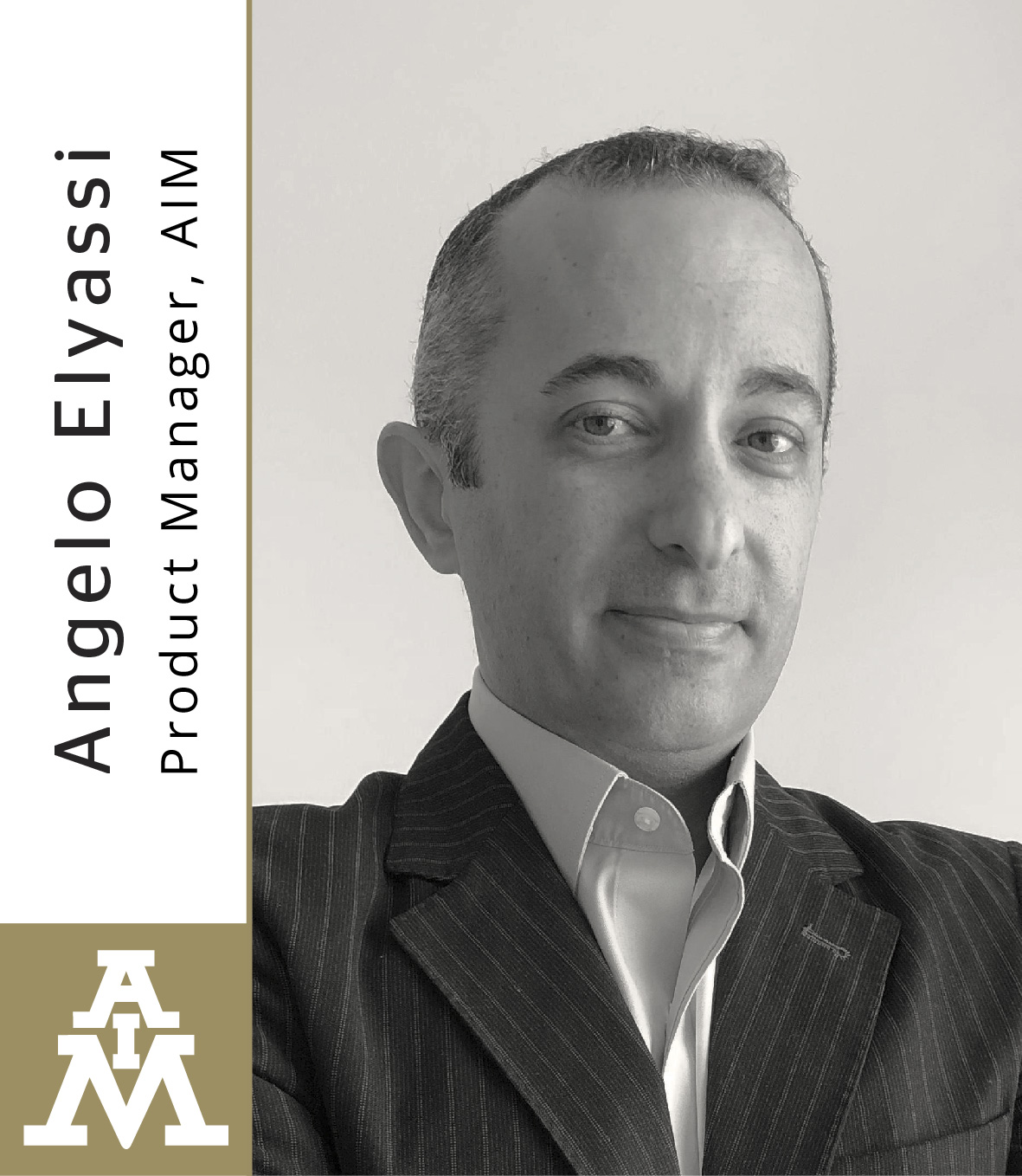 AIM Appoints Product Manager Angelo Elyassi