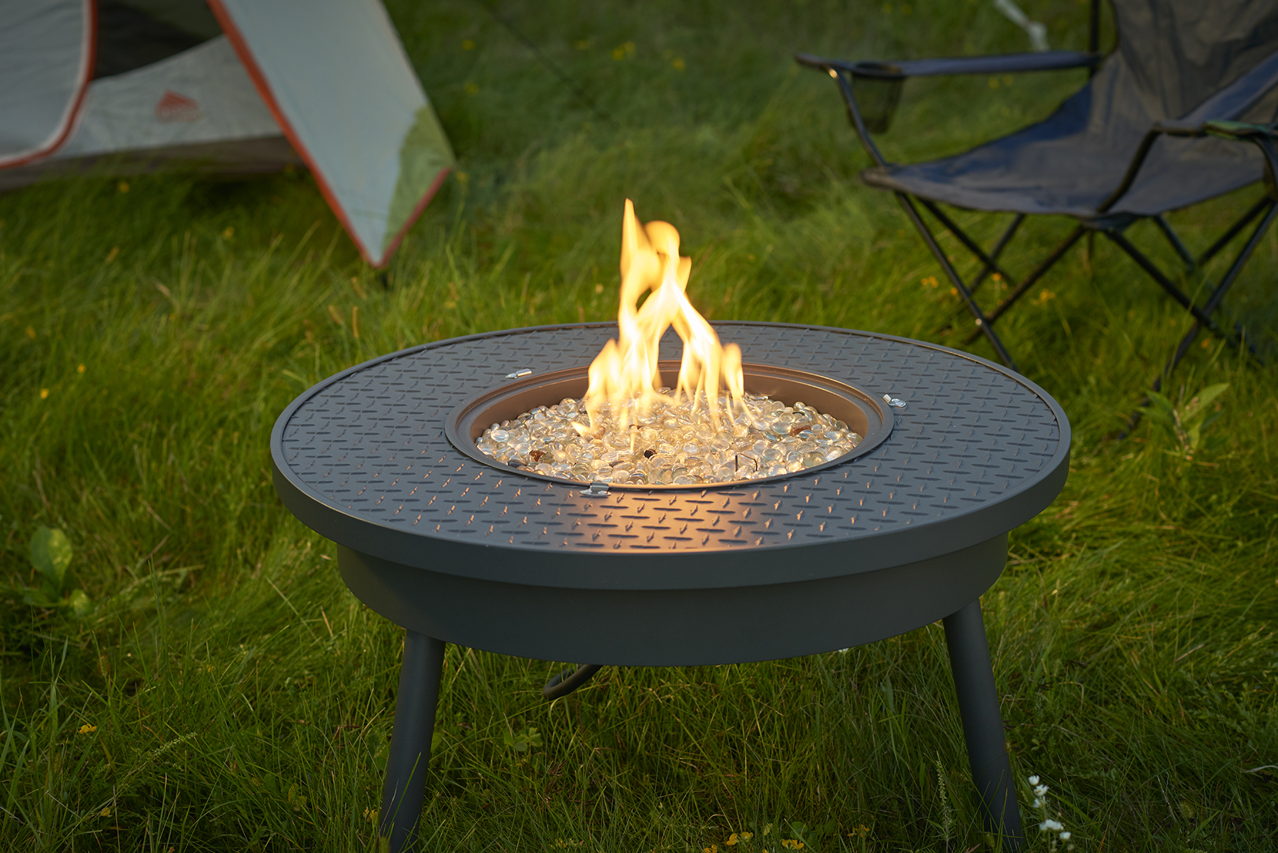 New Portable Gas Fire Pit From The Outdoor Greatroom Company
