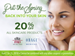 Perimeter Plastic Surgery Announces 20% Discount on Skin Care Products Through April 30