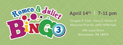 Bucks County's ATG Learning Academy, a licensed 501(c)(3) Private Academic & Neuroplasticity School, to host second-annual charity bingo April 14 at Warminster VFW.
