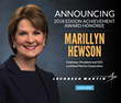 The Edison Awards Honors Lockheed Martin's Marillyn Hewson with Edison Achievement Award