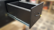 Seaboard drawer faces hold up to constant wear and tear better than wood or metal.