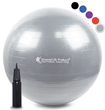 SmarterLife Products SmartSport Premium Exercise Ball Voted Among Top 10 Best Therapy Balls of 2018 by Ezvid Wiki