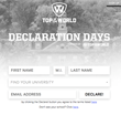 Top of the World's Declaration Days Campaign Launches