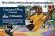 Landscape Structures, Kiwanis International's Legacy of Play Contest to bring $25,000 in Playground Equipment to a Deserving Kiwanis Club's Community