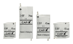 CAP-XX 3 Volt Supercapacitors
