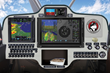 The Enhanced VFR and IFR Panel on the Aviat Husky Airplane