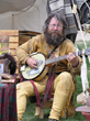 Mountain Man Rendezvous and Traders Row at the Teton Fairgrounds entertain crowds during ElkFest and Old West Days weekends in Jackson Hole, Wyoming, this May.