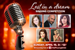 """Lost in a Dream"" Singing Competition Winner to Be Chosen on April 15 for $20,000 Prize!"