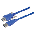 MilesTek Launches New USB 3.0 Cable Assemblies with Thumbscrews