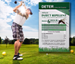 Deter Outdoor Skin Protection is Providing Insect Repellent for the US Open Golf Tournament Held June 11-17, 2018 at Shinnecock Hills Golf Course