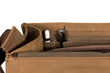 Rough Rider Leather Laptop Messenger — slots for Apple Pen or Surface Pencil