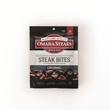 The Omaha Steaks Steak Snacks are available in three varieties - Beef Jerky, Beef Sticks and Steak Bites.