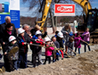 Gilbane Building Company, The S/L/A/M Collaborative Join North Providence Olney and McGuire Schools at Ground Breaking