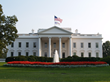 The White House with American and RGF Flags