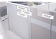 Acrylic Multi-Tier Name Plate Holders for Cubicles, Walls, and Desks, a New Release by Plastic Products Mfg.