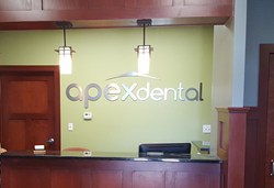 Apex Dental. Office remodel 2018