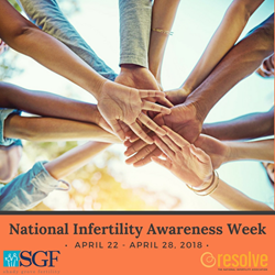 Shady Grove Fertility and Resolve: The National Infertility Association 2018 National Infertility Awareness Week