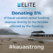 Elite Pacific Properties Announces Donation to Kauai Aid Recovery Efforts