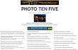 Photo Ten Five Home Page