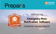 Preparis Named Top Performer in 2018 Emergency Mass Notification Software Report