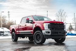 ROUSH Performance's brand new 2018 Super Duty F-250 is heavy on options while maintaining Ford's industry-leading towing and payload capabilities.
