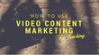 How to Use Video Content Marketing to Teach: Magnificent Marketing Presents a New Marketing Podcast Episode On How to Market a Small Business in Today's Digital Space