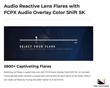 FCPX Audio Overlay Color Shift 5K - FCPX Tools - Pixel Film Studios