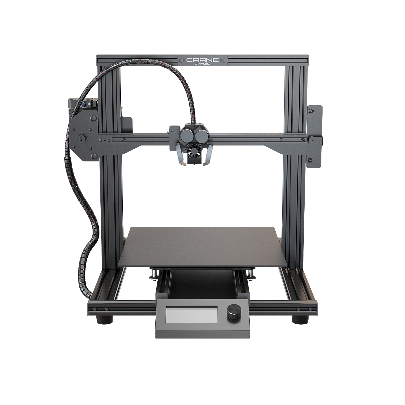 M3D Launches Crane Quad 3D Printer, The World's First Full