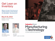 Synchrono® Presents Get Lean on Inventory at IndustryWeek Expo