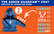 Operation Warm Launches Eco-friendly Coat, The Green Guardian™