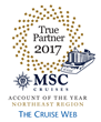 The Cruise Web Recognized by MSC Cruises as Leading Travel Partner in 2017