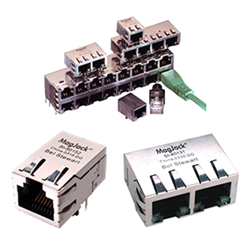 Heilind offering Bel MagJack connector modules