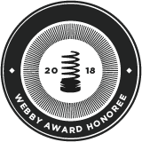 Award from the Webbys