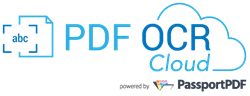 Thanks to the innovative technology of PassportPDF™, PDF OCR Cloud loads documents and images (more than 100 formats are supported), saves them as PDF, and performs OCR by adding a text layer in the PDF file, without using any resource client-side.