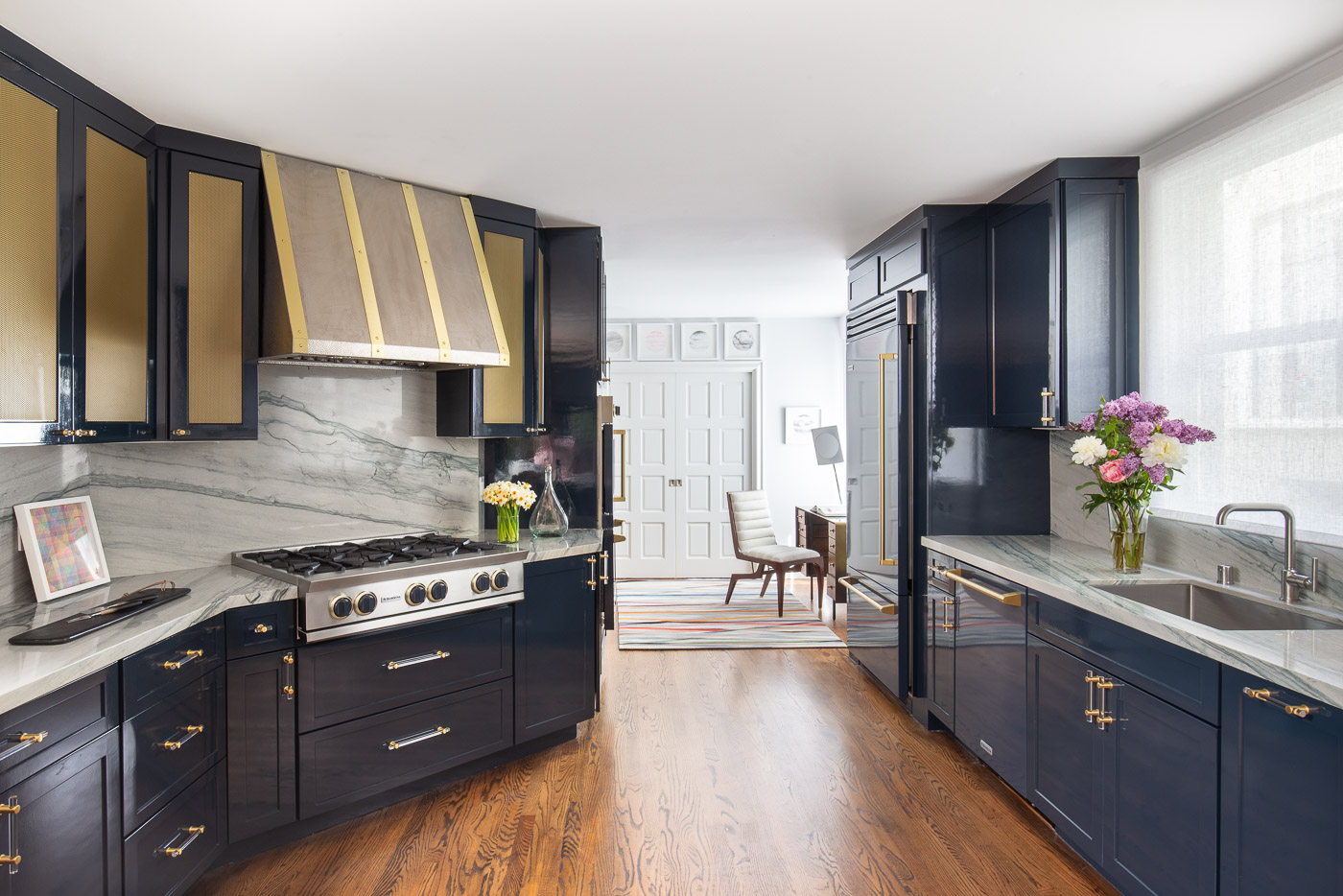 BlueStar® Full Kitchen Suite Featured In 2018 San Francisco Show House  Kitchen Designed By Ian Stallings